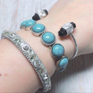 Sundance Artisan Costume Turquoise Bracelet